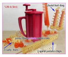 Save Your Time Preparing Delicious Items with Twist Potato Cutter