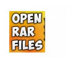 Know You Will be Knowing to Open RAR Files