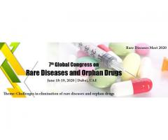 7th Global Congress on Rare Diseases & Orphan Drug