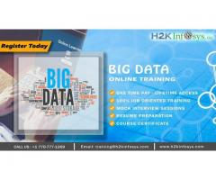 Bigdata Online Training by Industry Experts