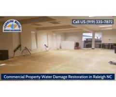 Commercial Property Water Damage Restoration in Raleigh NC