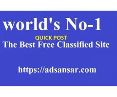 FREE CLASSIFIED ADVERTISEMENT IN INDIA