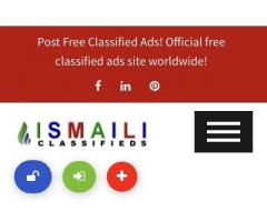 Post Free Classifieds. Free Classified Advertising Online