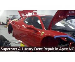 Luxury & Supercars Dent Repair in Apex NC