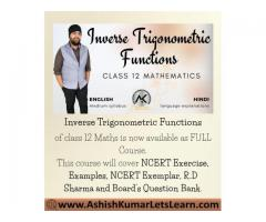 Inverse Trigonometric Functions Class 12 Maths
