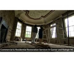 Commercial & Residential Restoration Services in Garner and Raleigh NC
