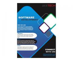 Acetech is leading software enterprise specializing in software development services in USA