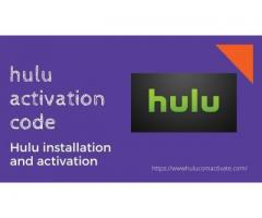 Hulu installation and activation