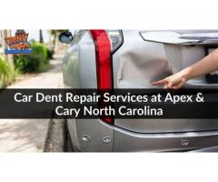 Car Dent Repair Services at Apex & Cary North Carolina
