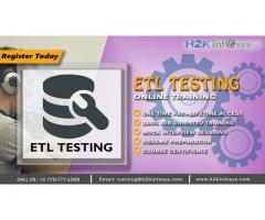 ETL Testing Online Certification Training