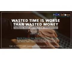 Wasted Time is Worse than Wasted Money! Update your skills now