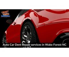 Auto Car Dent Repair services in Wake Forest NC