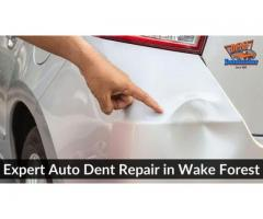 Expert Auto Dent Repair in Wake Forest NC