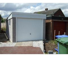 Pent Garages - White Rose Buildings Ltd