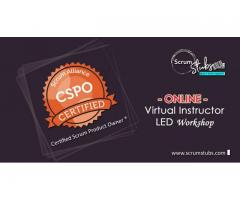 Scrum Product Owner Certification – CSPO | Virtual Instructor ( CST ) Led Workshop | Scrum Stubs