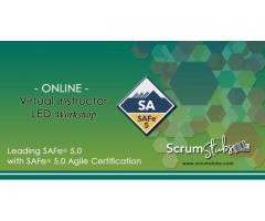 Leading SAFe 5.0 | SA | Certification | Professional Trainers | Virtual Instructor Led Workshop |