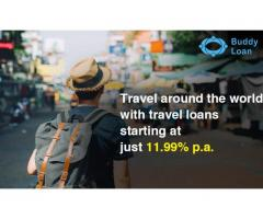 Get Instant Travel Loan Online at Buddy Loan