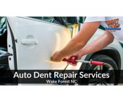 Wake Forest Auto Dent Repair Services by Dent Dominator