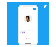 Twitter launches voice tweets for iOS users