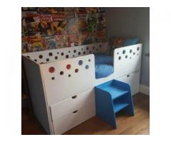 Kids Bunk with Stairway