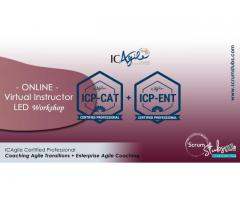 ICAgile Certified Professional - CAT and ENT | Virtual Instructor Led Workshop | Scrum Stubs |