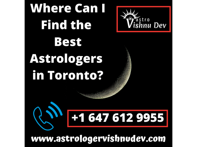 Where Can I Find the Best Astrologer in Toronto?