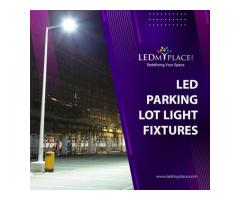 LED Parking Lot Light Fixtures for Outdoor Locations