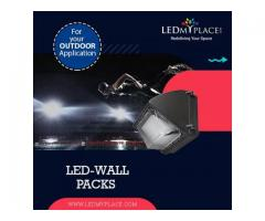 LED-Wall Packs to Light-up Walls and Background