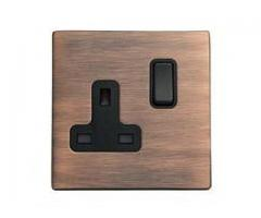 Copper Sockets for Wholesale & Domestic With  Electrical Counter