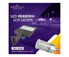 LED Parking LOT Lights to Serve as Outdoor Security Lighting