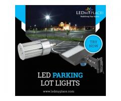 LED Parking Lot Lights for Use in Public Areas
