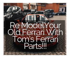 Renovate Your Old Ferrari With Most Genuine And Reliable Ferrari Parts!