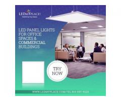 LED Panel Lights for Office Spaces and Commercial Buildings