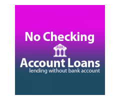 No Checking Account Loans - Online Cash Loans