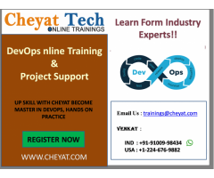 devops online training/on project support by cheyat tech