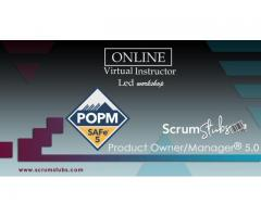 Product Owner | Product Manager | POPM | Certification Course | Virtual Instructor Led Workshop |
