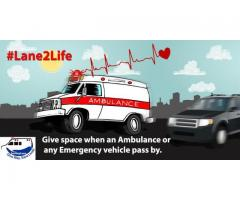 Importance of Giving Way to Ambulance | Saving Lane