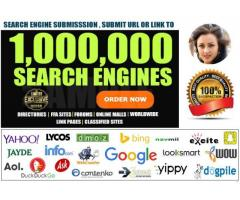 submit website to google and 1,000,000 search engines