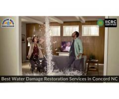 Best Water Damage Restoration services in Concord NC