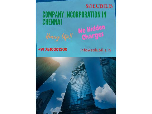 Company Incorporation in Chennai | Registration in 12 days | Solubilis
