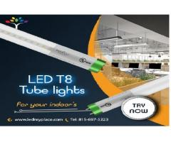 SAVE MORE ENERGY BY REPLACING THE FLUORESCENT TUBE LIGHTS!