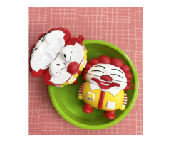McDonald Clown 3D Silicone AirPods Case Gen 1/2 with Keychain