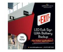 LED EXIT SIGNS: SAVE ENERGY, SECURE LIVES!