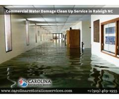 Commercial Water Damage Clean Up Raleigh NC