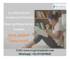 Hire Expertsmind Tutors For USA University Assignment Help!