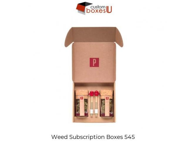 Best fast Weed subscription boxes | Custom Boxes U