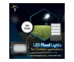 FLOODLIGHTS THAT OUTPERFORM TRADITIONAL LIGHTING FIXTURES!