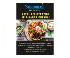 FSSAI Registration in Chennai | Online registration in 1 day | Solubilis