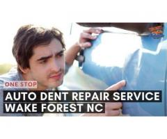 One Stop Auto Dent Repair Services in Wake Forest NC