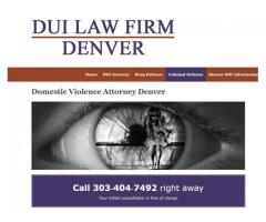 Domestic Violence Attorney Denver